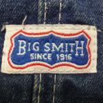 BIG SMITH(ビッグスミス)のタグで見る年代の見分け方