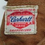 Carhartt(カーハート)のタグで見る年代の見分け方