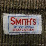 SMITH'S(スミス)のタグで見る年代の見分け方