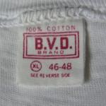 B.V.D.(ビーブイディー)のタグで見る年代の見分け方【BVD】