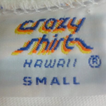 Crazy Shirts(クレイジーシャツ)タグで見る年代判別方