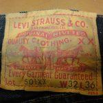 Levi's(リーバイス)501ヴィンテージの年代を見分ける方法【大戦モデル・XX等ジーンズ判別】