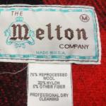 Melton(メルトン)のタグを見て年代を見分ける方法【ヴィンテージ古着】