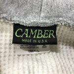 CAMBER(キャンバー)のタグを見て年代を見分ける方法