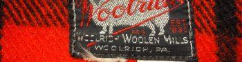 WOOLRICH(ウールリッチ)のタグから見る年代の見分け方