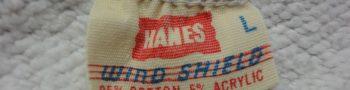 ヴィンテージHanes(ヘインズ)タグで見る年代別の見分け方